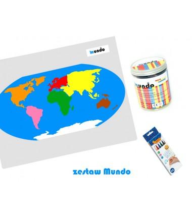 Zestaw map konturowych -...