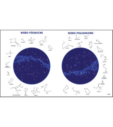 Mapy Nieba - zmywalna mata - 40 x 67 cm