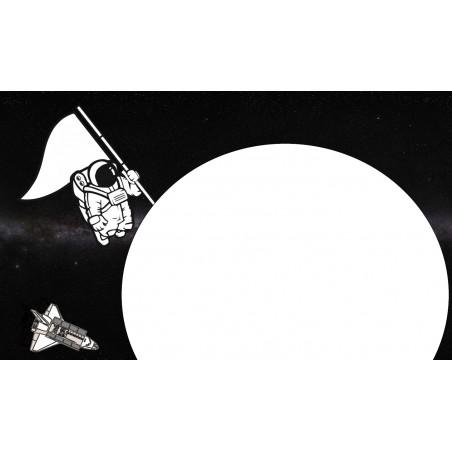 Lądowanie na planecie - zmywalna mata do wyklejania - 67x40 cm