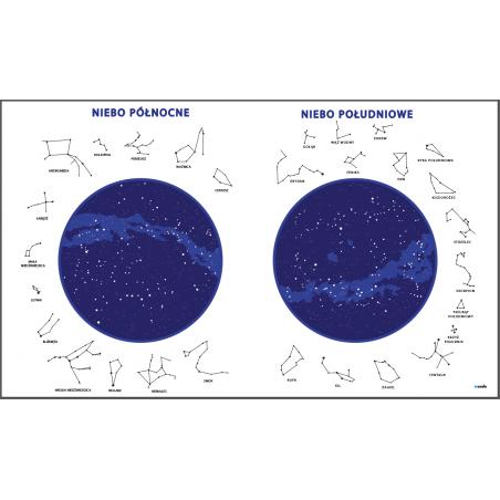 Mapy Nieba - zmywalna mata - 135 x 80 cm