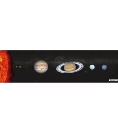 OKAZJA - Obiekty w Układzie Słonecznym - zmywalna mata - 44 x 160 cm