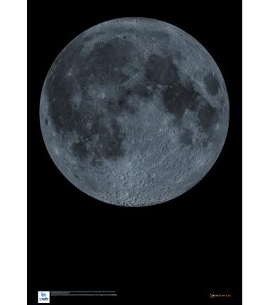 Księżyc - wersja bez szczegółowych napisów- 96 x 68 cm