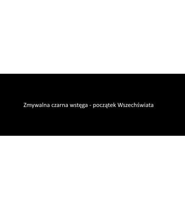 Czarna wstęga do Pierwszej Wielkiej Lekcji Montessori - zmywalna mata 200 x 67 cm