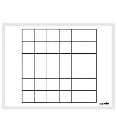 Plansza do sudoku 6 x 6