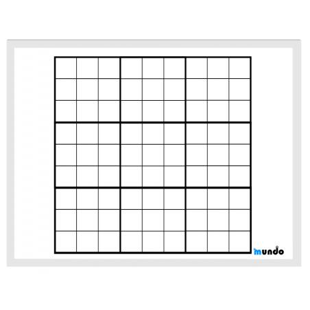 Plansza do sudoku 9 x 9