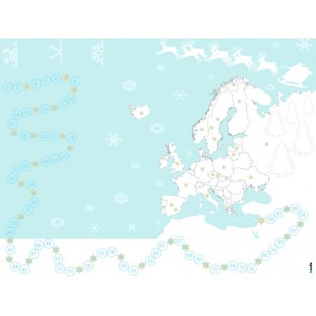 Świąteczna podróż po Europie - gra edukacyjna