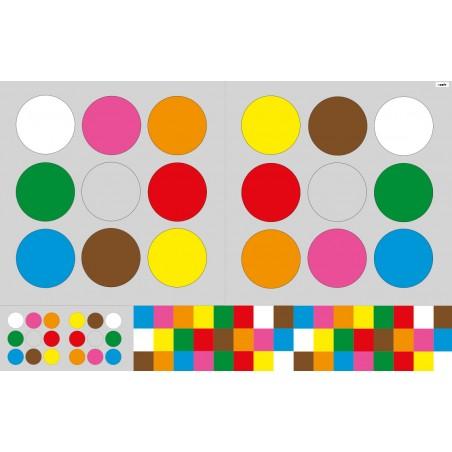 """mata """"kodowanie ruchem"""" - 210 x 135 cm"""
