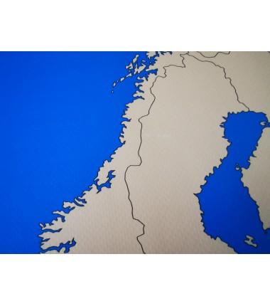 OUTLET - Europa - 65 x 50 cm - mapa polityczna